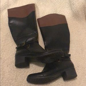 Rampage Black & Brown Boots